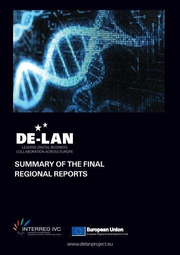 DE-LAN Summary of the Final Regional Reports - EPMA