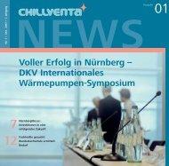 Voller Erfolg in Nürnberg – DKV Internationales ... - auf der Chillventa