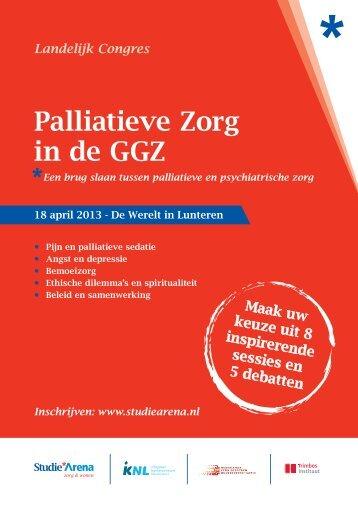 Palliatieve Zorg in de GGZ - StudieArena