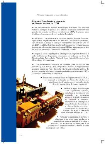 Ministério da Ciência e Tecnologia Relatório de Gestão - Inovação ...
