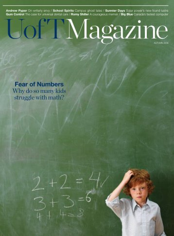 Fear of Numbers Why do so many kids struggle with math?