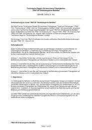 Technische Regeln für brennbare Flüssigkeiten