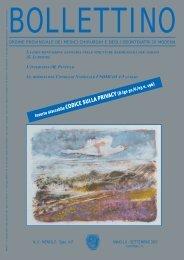 Settembre 2003 (pdf - 703 KB) - Ordine Provinciale dei Medici ...