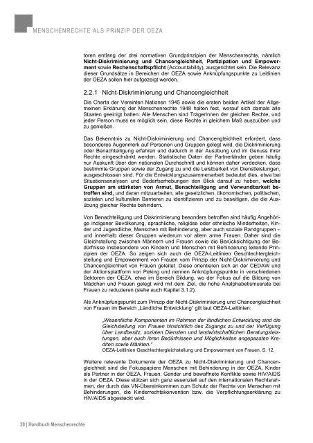 Handbuch Menschenrechte (Mai 2010) - Ludwig Boltzmann Institut ...