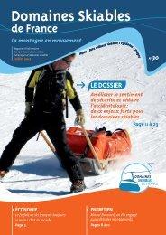 m DOSSIER - Domaines Skiables de France