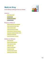 MailList King