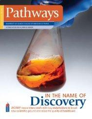 UIC Pathways Fall09 - University of Illinois College of Medicine at ...
