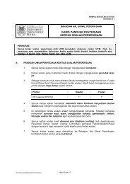 garis panduan penyediaan kertas soalan peperiksaan - UiTM Johor