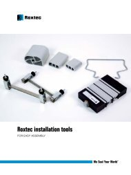 Installation Tools Brochure - Roxtec