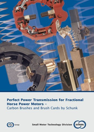 Perfect Power Transmission for Fractional Horse Power Motors ...