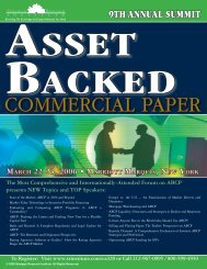 COMMERCIAL PAPER - ALM Events