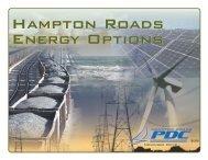 Hampton Roads Energy Options Hampton Roads Energy Options