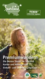 Premiumwandern - Tourismus Zentrale Saarland