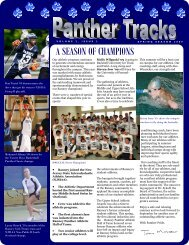 Spring 2009 Panther Tracks - Ranney School