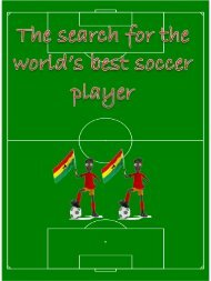 The search for the world's best soccer player - English at Bar-Lev