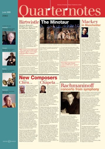 New Composers Rachmaninoff