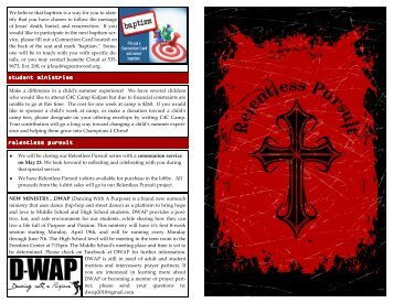 Bulletin 4-25-10.pub - Emmanuel Church of Greenwood