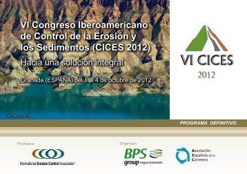 Programa actualizado - Asociación Española de la Carretera