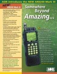 AR8200 Mark III - Universal Radio, Inc.