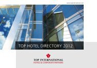 TOP HotelDirectory Selection 2012 (PDF) - TOP INTERNATIONAL ...