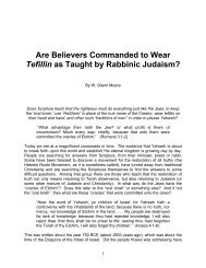 Are Believers Commanded to Wear Tefillin as ... - It's About Time
