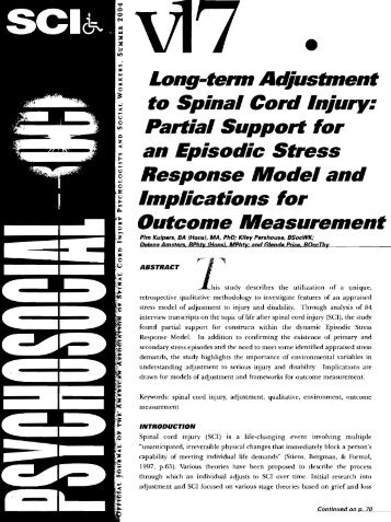 Vol. 17 No. 2.pdf - Academy of Spinal Cord Injury Professionals, Inc.