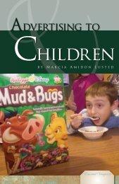 Advertising to Children - Sharyland ISD