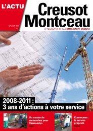 2008-2011 : 3 ans d'actions à votre service - Creusot-Montceau TV