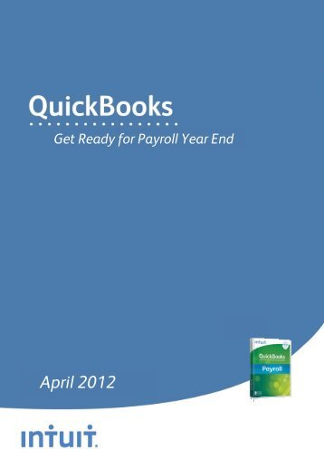 Get Ready for Payroll Year End - Intuit