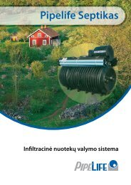 SEPTIC techninis katalogas - Pipelife Lietuva