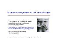 Schmerzmanagement in der Neonatologie