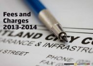 Fees and Charges 2013-14 - Maitland Your Say