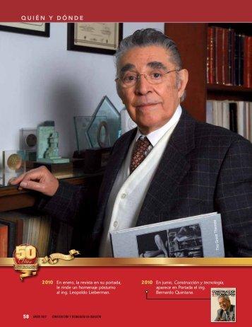 QUIÉN Y DÓNDE - Instituto Mexicano del Cemento y del Concreto