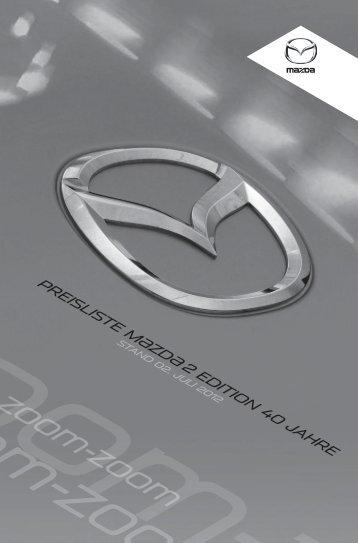 Preise - Mazda