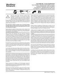 tachometer, pulse generator tachymetre, generateur d'impulsions ...