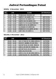 Jadwal Futsal.pdf - BPK Penabur