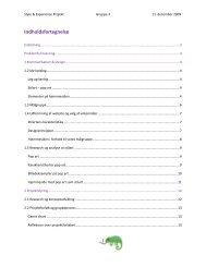 Rapport + bilag (.pdf)