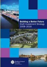 Draft Investment Strategy - CAIN - University of Ulster