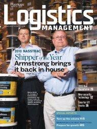 Logistics Management - October 2010