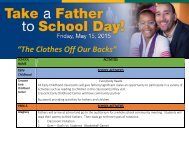 Take Your Father to School 2015