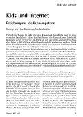 Kids und Internet - Gemeinnützige Treuhandstelle Hamburg e.V. - Seite 5