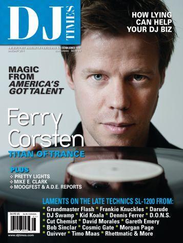 review DJ Times magazine USA (january 2011) - Transtel-Sabima