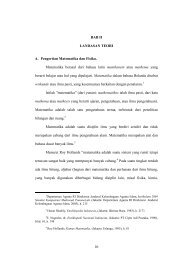 10 BAB II LANDASAN TEORI A. Pengertian Matematika dan ... - idb4