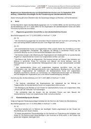 Gesetzliche Grundlage - SBBK