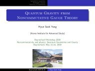 Quantum Gravity from Noncommutative Gauge Theory