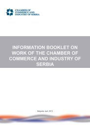 information booklet on work of the chamber of commerce and ...