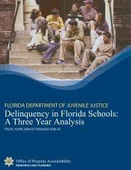 FY 2006-07 Delinquency in Schools