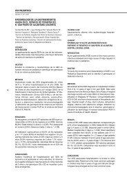 epidemiología de la gastroenteritis aguda en el servicio de pediatría ...
