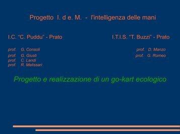 Laboratorio didattico di Tecnologia e Disegno ... - ITIS Tullio Buzzi