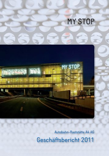 Geschäftsbericht 2011 - my stop. gotthard